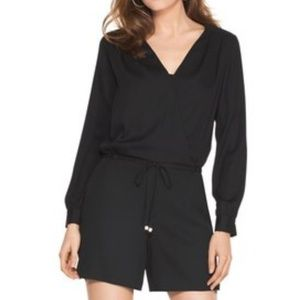 White House Black Market romper